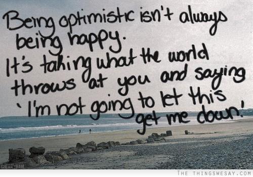 Optimistic quote #8