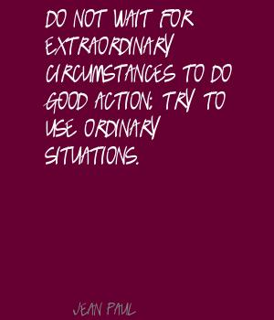 Ordinary Situations quote #2