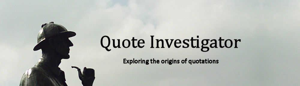 Origins quote #1