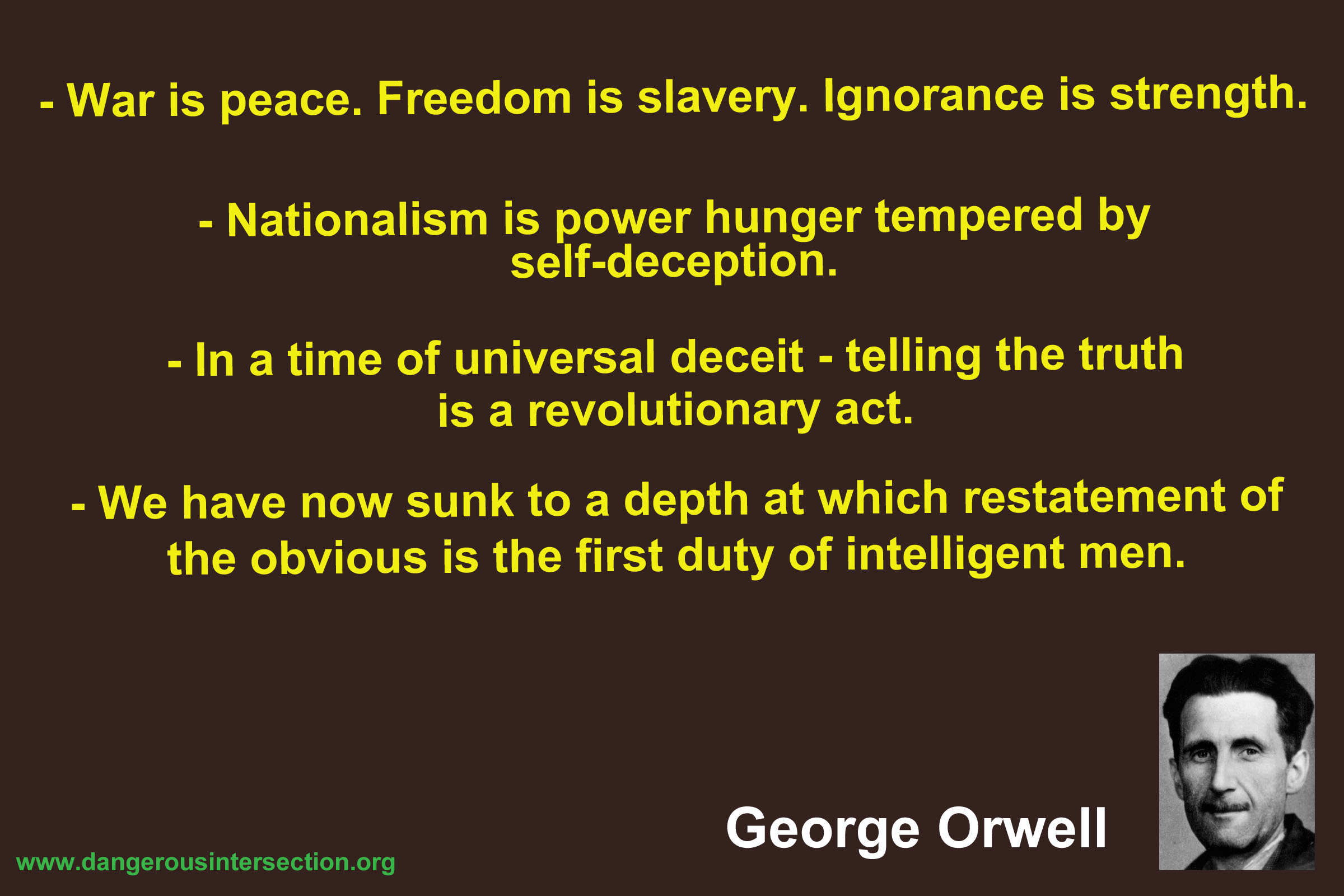Orwell quote #1