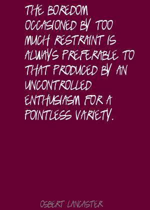 Osbert Lancaster's quote #1