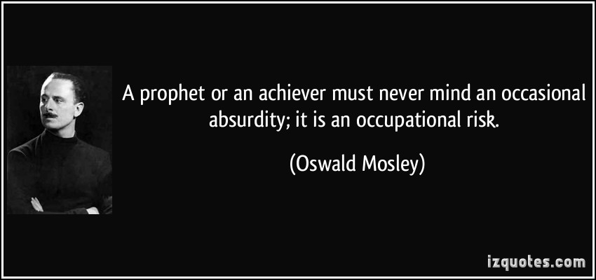 Oswald Mosley's quote