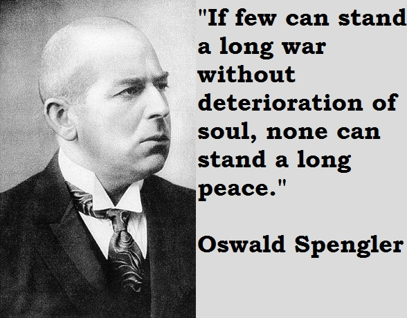 Oswald Spengler's quote