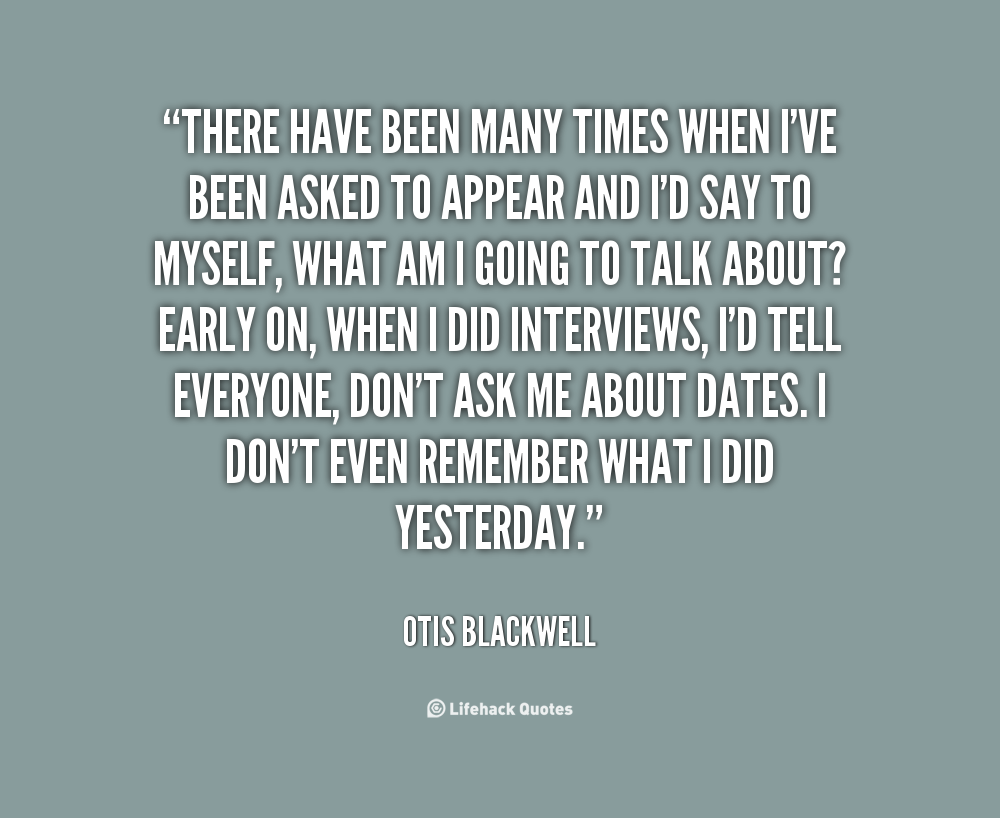 Otis Blackwell's quote #2
