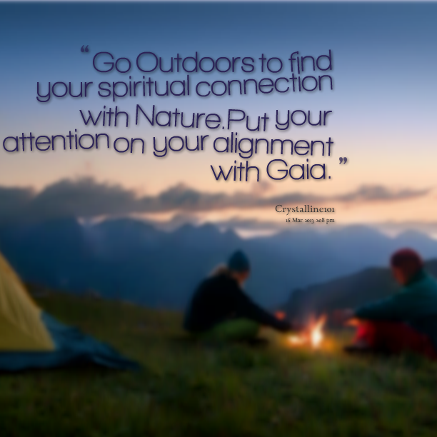 Outdoors quote #5