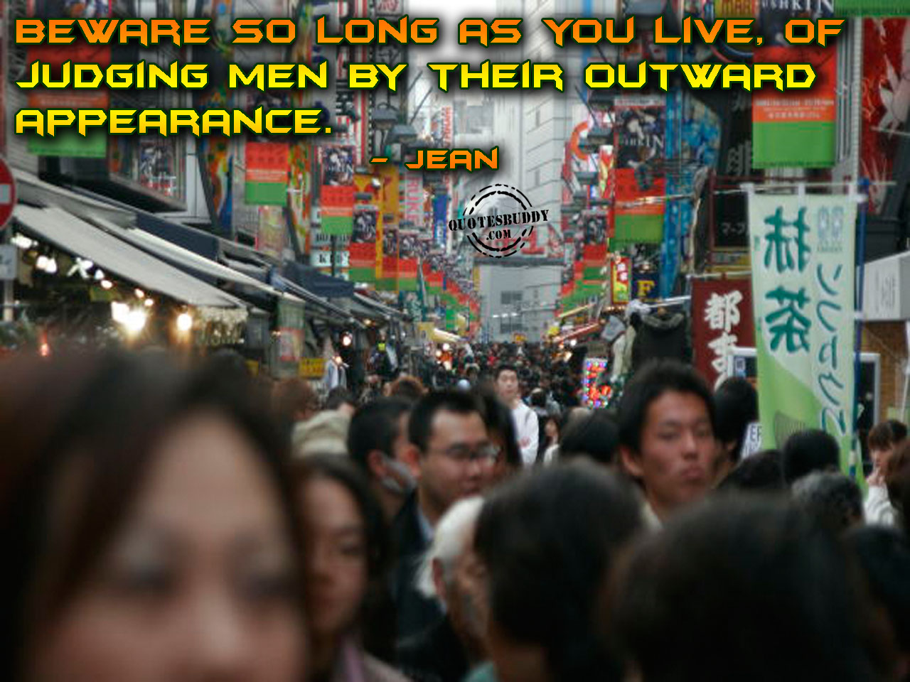 Outward Appearance quote #2
