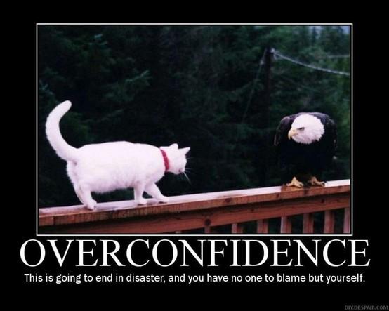 Overconfident quote #1