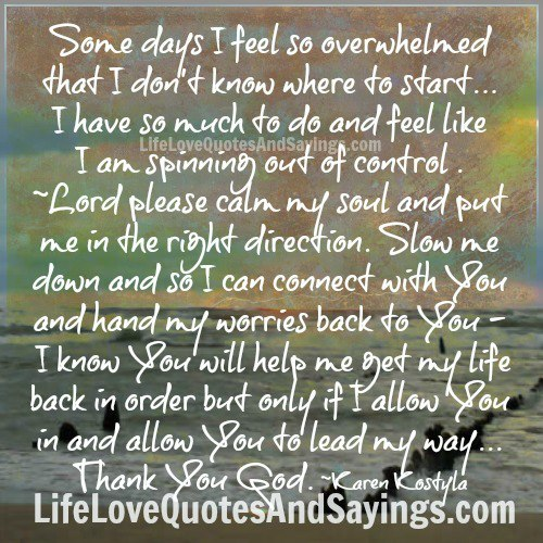 Overwhelmed quote #2