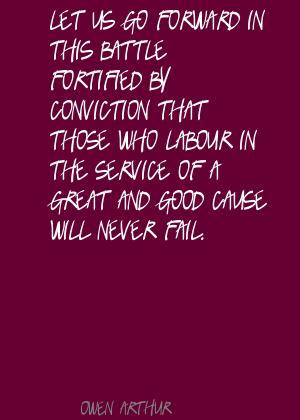 Owen Arthur's quote #2