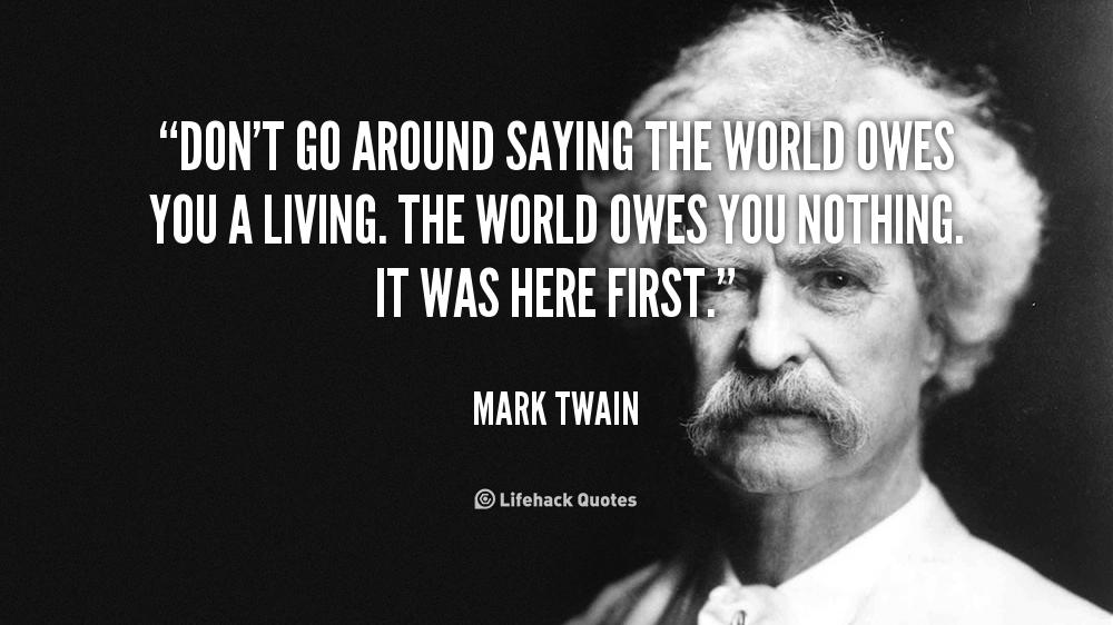 Owes quote #2