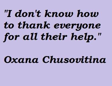 Oxana Chusovitina's quote #1