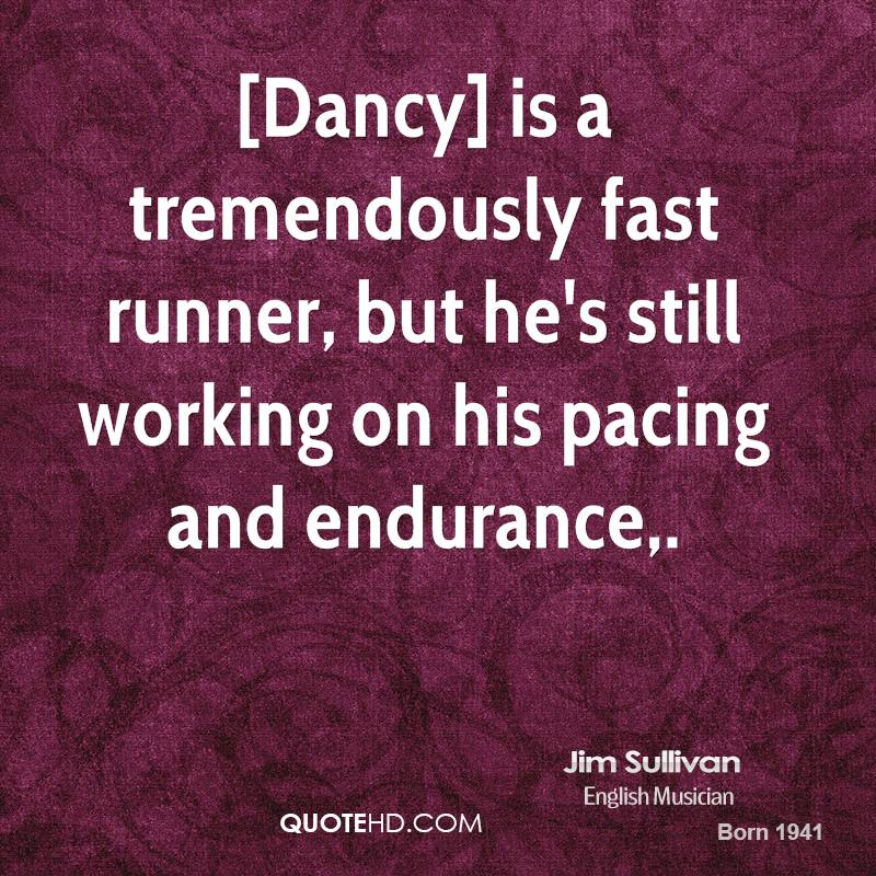 Pacing quote #2