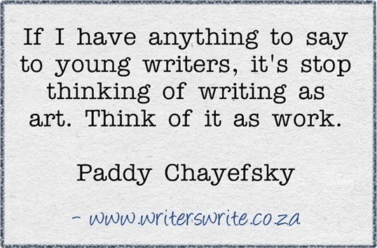 Paddy Chayefsky's quote #4