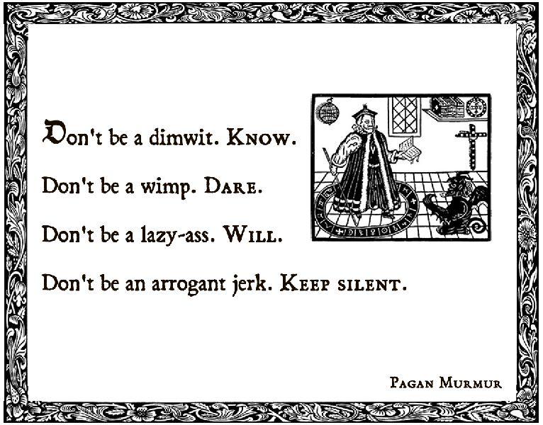 Pagan quote #2