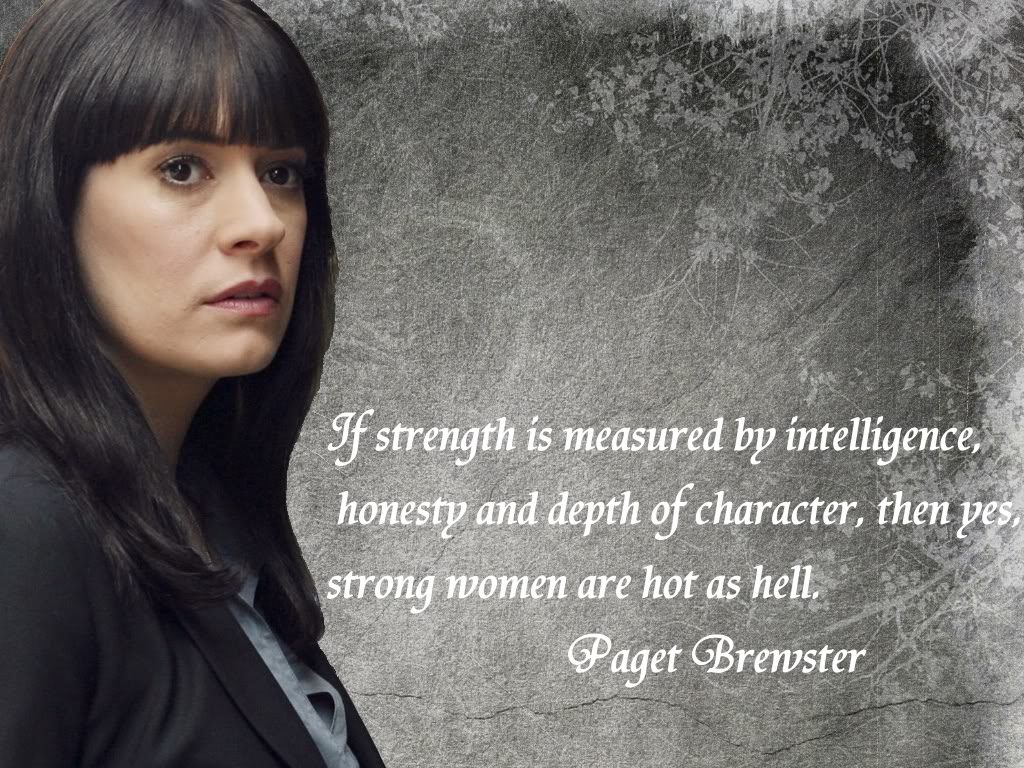 Paget Brewster's quote #3