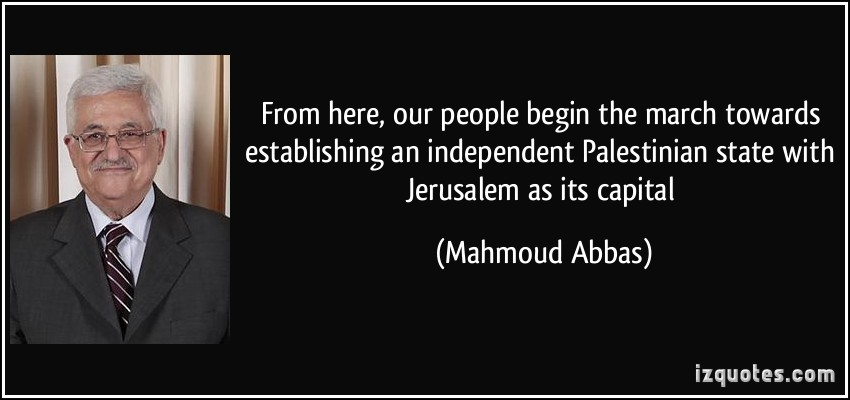 Palestinian State quote #2