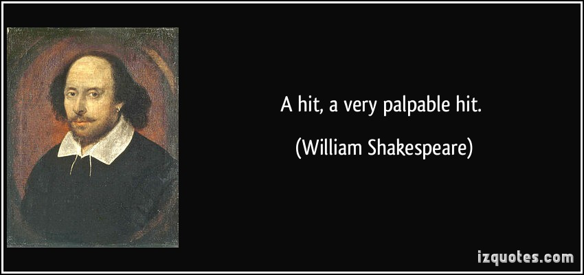 Palpable quote #1