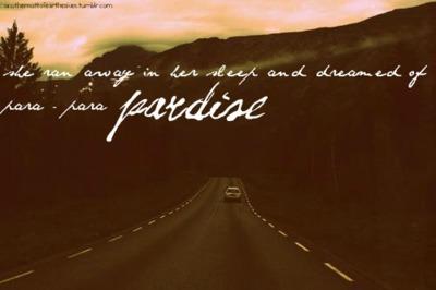 Paradise quote #5