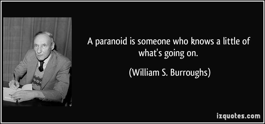 Paranoid quote #2
