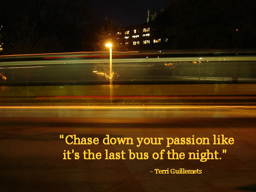 Passion quote #1