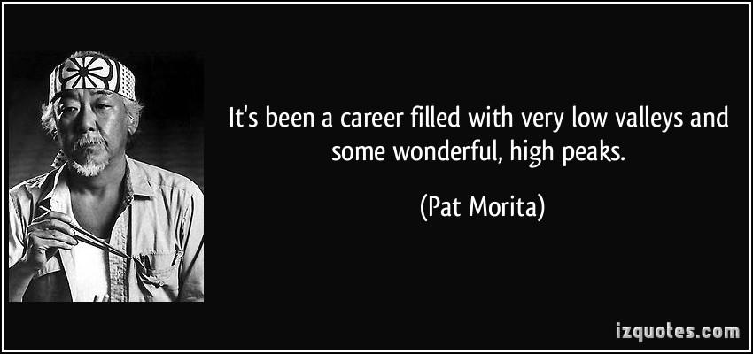 Pat Morita's quote #2