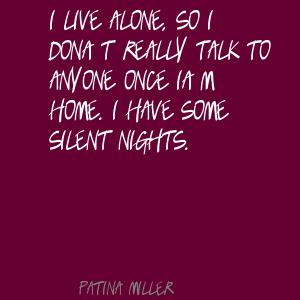 Patina Miller's quote #5