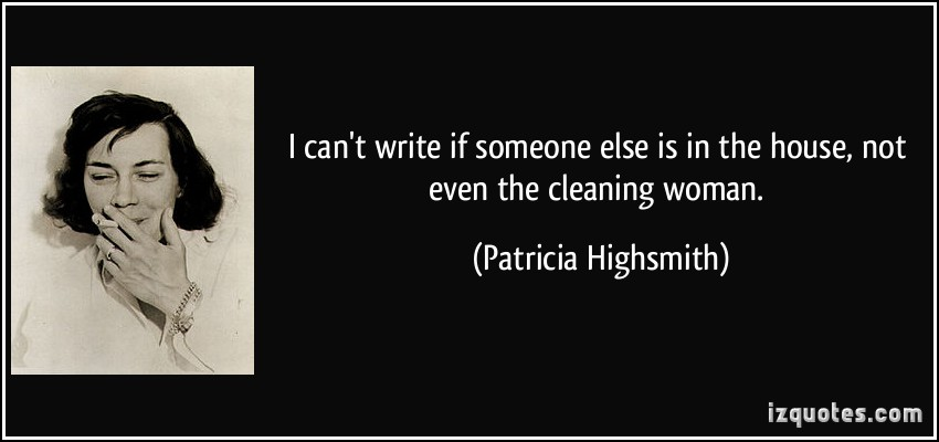 Patricia Highsmith's quote #1