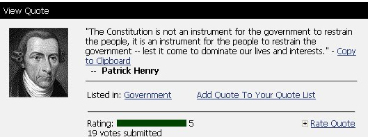 Patrick Henry's quote #7