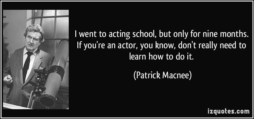 Patrick Macnee's quote #5