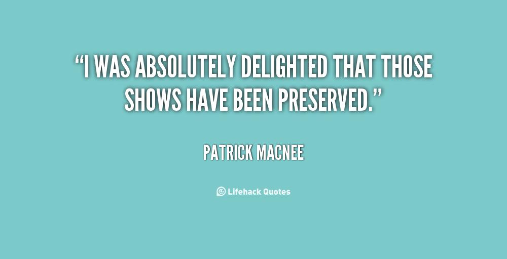Patrick Macnee's quote #1