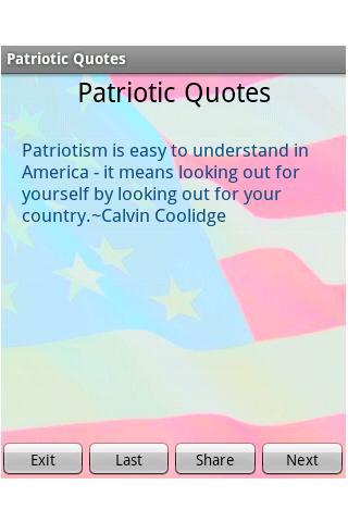 Patriotism quote #3