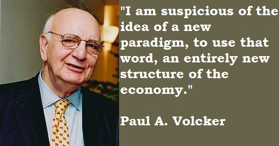 Paul A. Volcker's quote #3