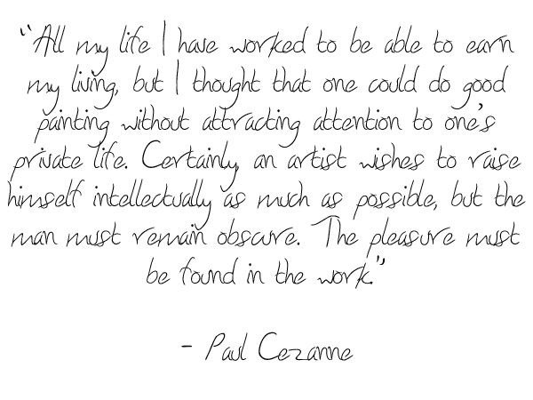 Paul Cezanne's quote #2