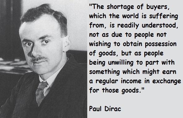 Paul Dirac's quote #1