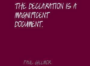 Paul Gillmor's quote #6