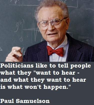 Paul Samuelson's quote #5
