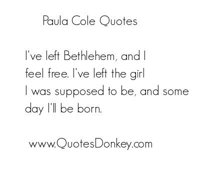 Paula Cole's quote #3