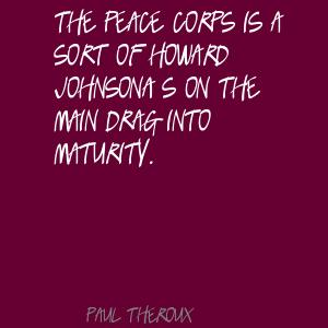 Peace Corps quote #2