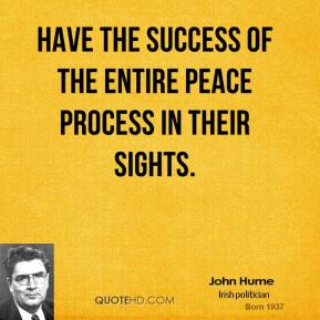 Peace Process quote #1