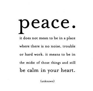 Peaceful quote #1
