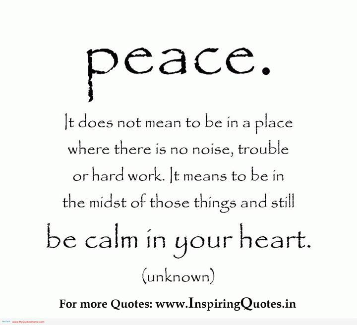 Peaceful quote #4