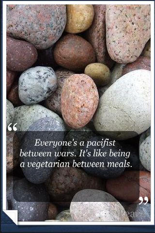 Peaceful World quote #1