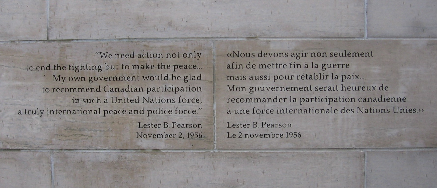 Peacekeeping quote #2