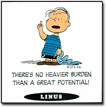 Peanuts quote