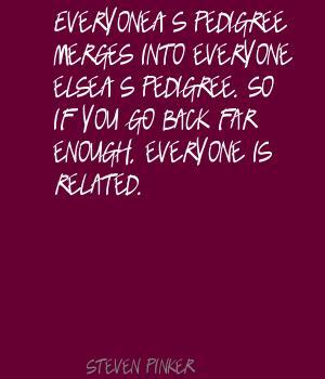Pedigree quote #1