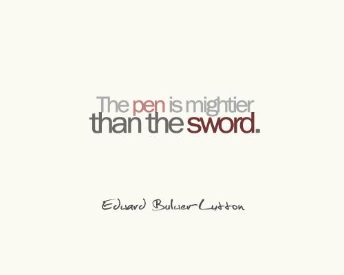 Pen quote #1