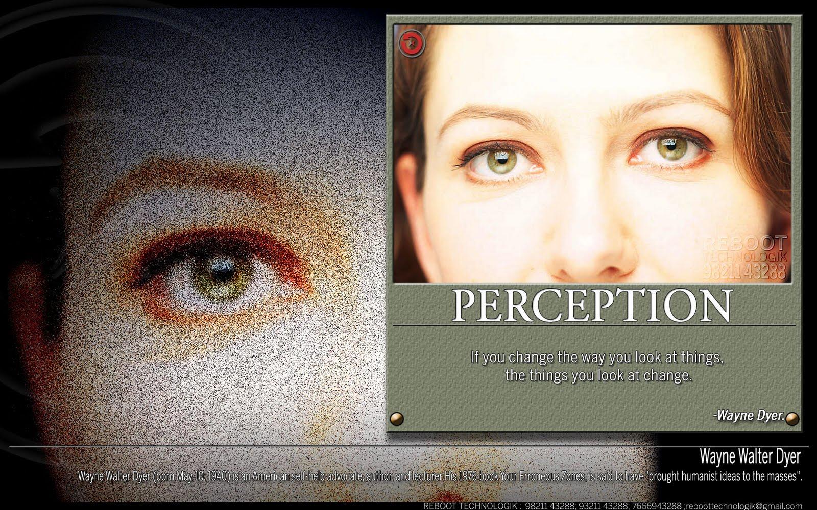 Perception quote #4