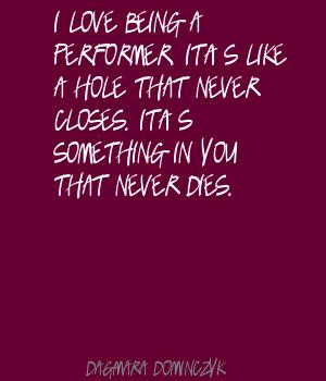 Performer quote #5