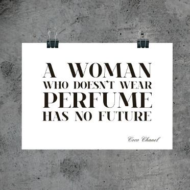 Perfume quote #1