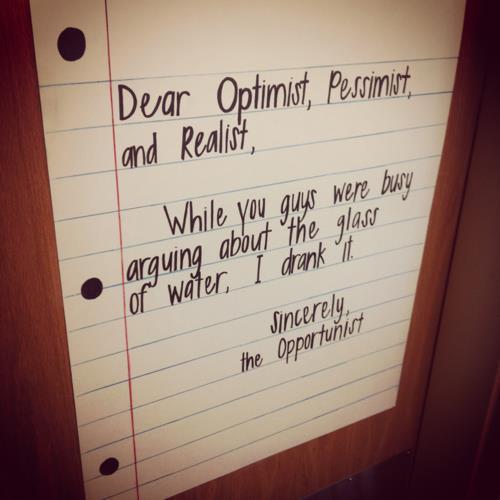 Pessimist quote #2